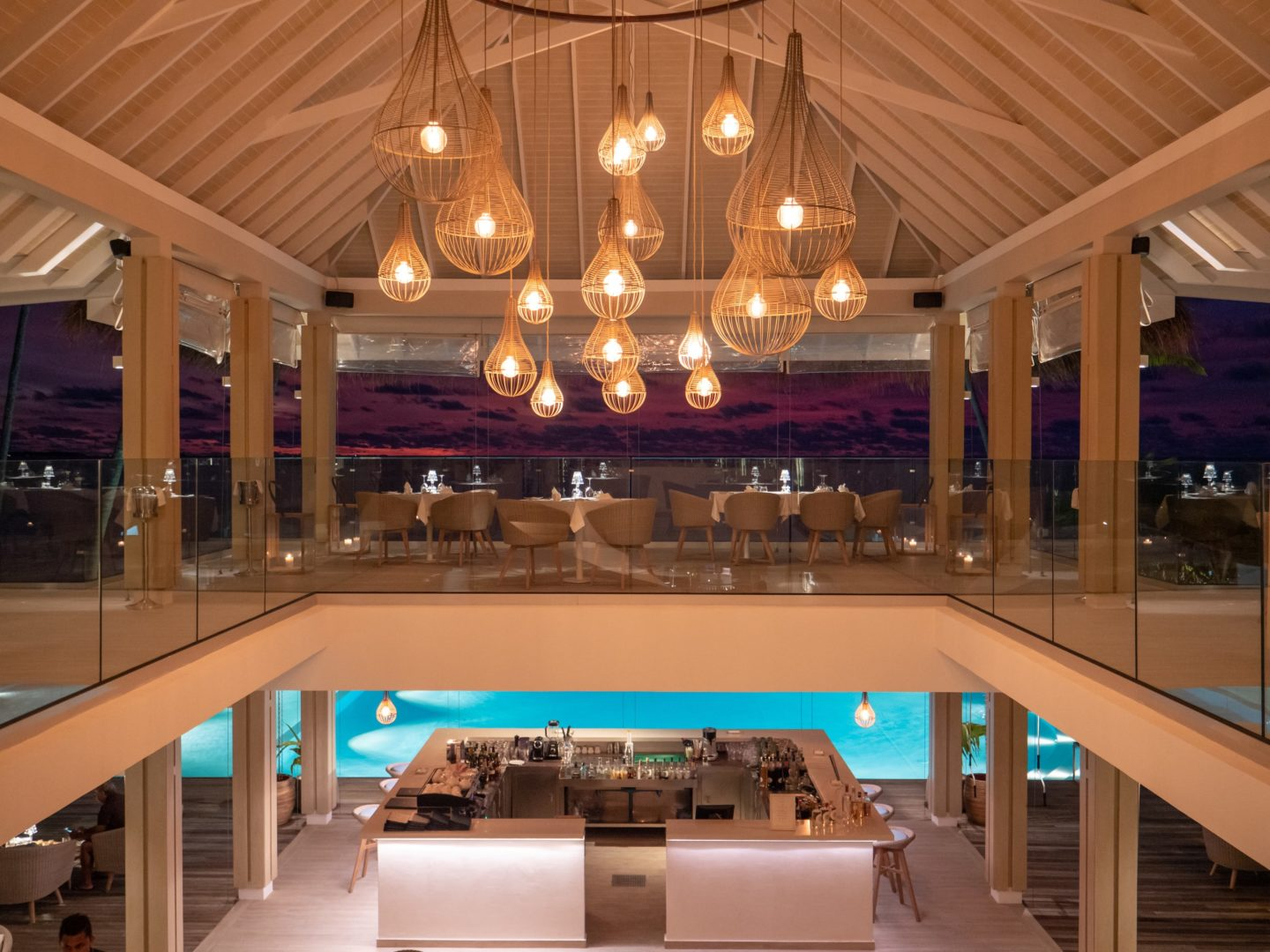 Gusto Restaurant at Baglioni Resort Maldives
