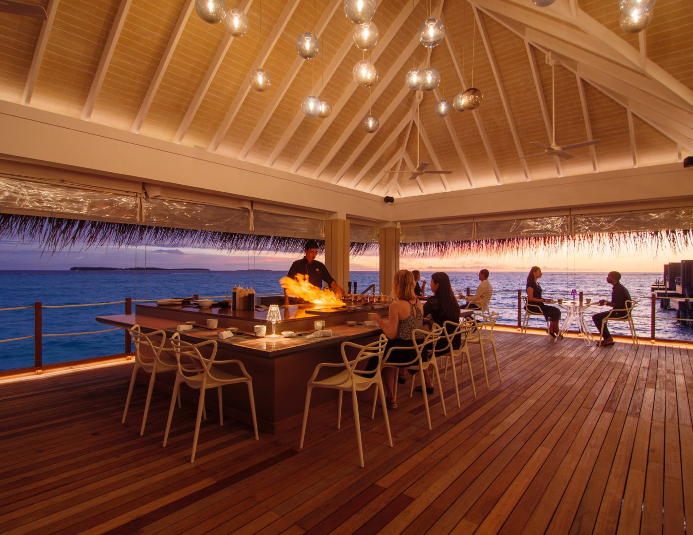 Umami Restaurant at Baglioni Resort Maldives