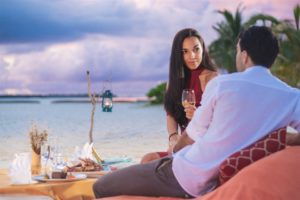 Adaaran Prestige Water Villas - Private Dining at Meedhupparu